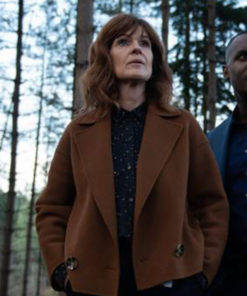 Johanna Griffin The Stranger Series Wool Brown Jacket
