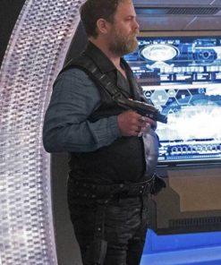 Harry Mudd Star Trek Discovery Series S02 Black Vest