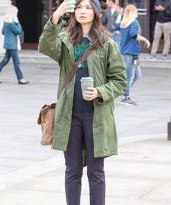 Gemma Chan The Eternals Sersi Coat