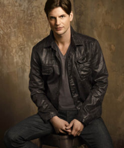 The Secret Circle Charles Meade Leather Jacket