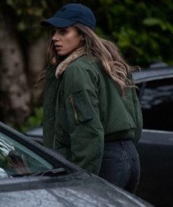 The Stranger Hannah John-Kamen Shearling Jacket