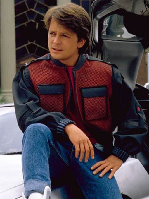 Tyler Dunivan Back To The Future II Marty Mcfly Jacket