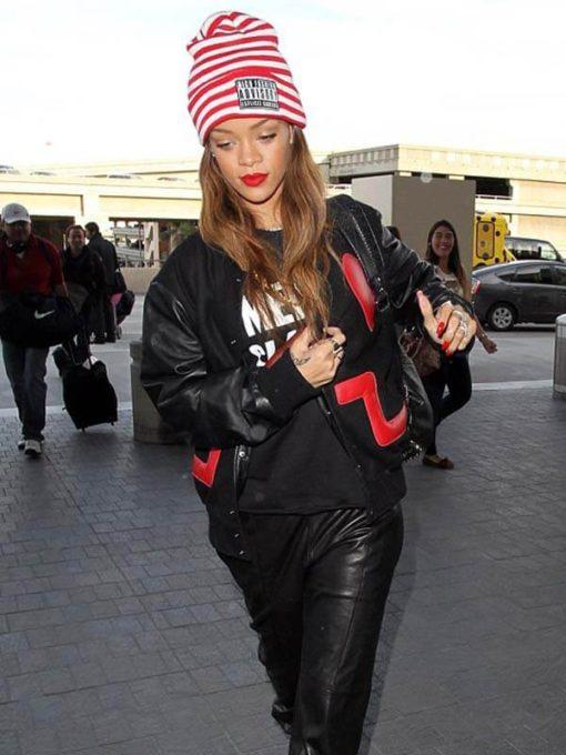 Valentine Day Rihanna Jacket
