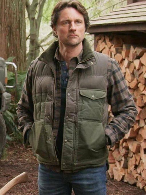 TV Series Virgin River Jack Sheridan Polyester Vest