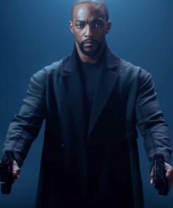 Altered Carbon Season 2 Anthony Mackie Black Trench Coat
