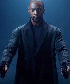 Altered Carbon Season 2 Anthony Mackie Black Trench Coat