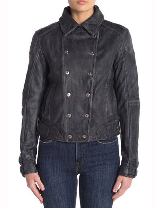 Tina Boland Tv Series Arrow Season 7 Leather Jacket