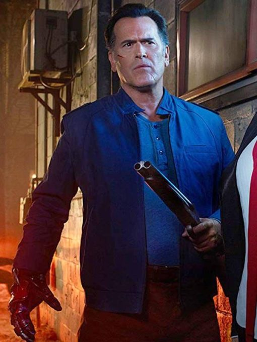Bruce Campbell Ash vs Evil Dead Cotton Jacket