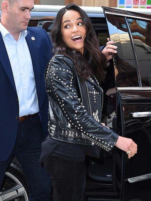 Letty Ortiz F9 New York City Premiere Leather Jacket
