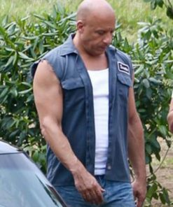 Fast and Furious 9 Dominic Toretto Sleevless Jacket`