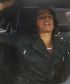 Letty Ortiz Fast and Furious 9 Biker Leather Jacket