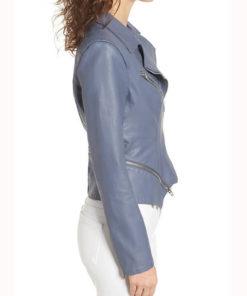 Emily Bett Rickards Arrow SO7 Motorcycle Leather Jacket for Womens