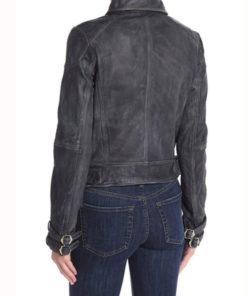 Dinah Drake Arrow S07 Studded Leather Jacket