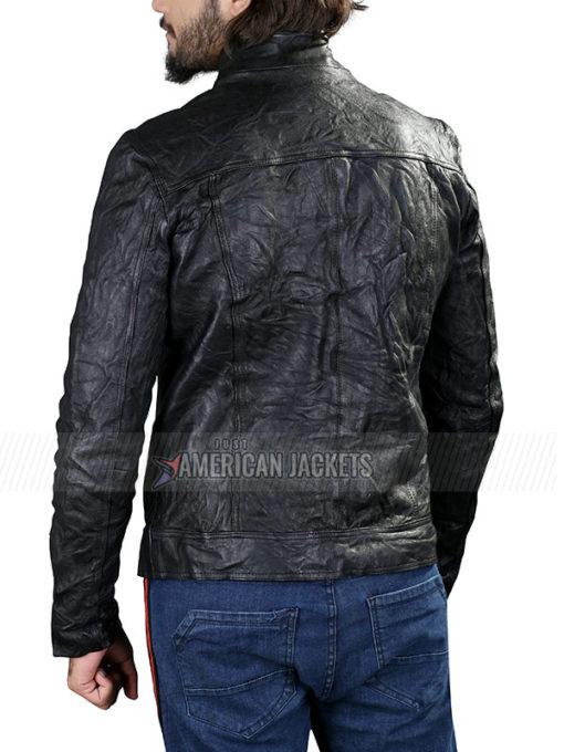 The Originals Klaus Mikaelson Black Letaher Jacket