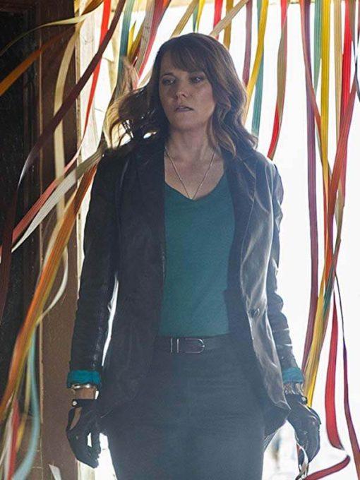 Ash vs Evil Dead Lucy Lawless Blazer Jacket for Womens