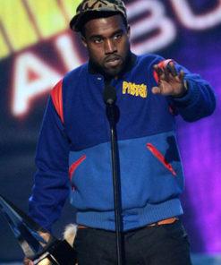 Kanye West Pastelle Letterman Jacket