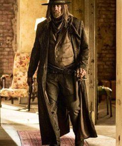 The Saint of Killers Preacher Leather Coat