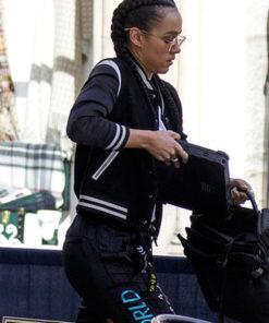 Nathalie Emmanuel FF9 Ramsey Letterman Jacket