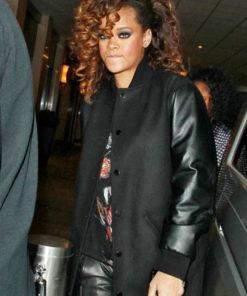 Rihanna Varsity Jacket