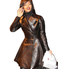 Rihanna Black Frock Jacket