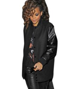 Rihanna Classic Varsity Jacket