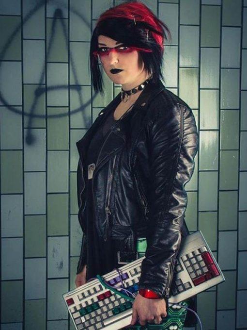 Decker Shadowrun Leather Jacket