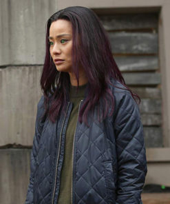 Tv Series The Gifted Clarice Fong Quilted Bomber Jacket