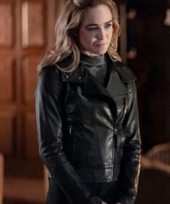 Tv Series Arrow Sara Lance Motorcycle Caity Lotz Leather Jacket