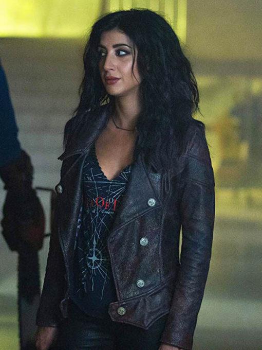 Dana DeLorenzo Ash vs Evil Dead Kelly Maxwell Leather Jacket