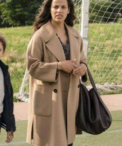Tv Series Manifest Athena Karkanis Wool Coat