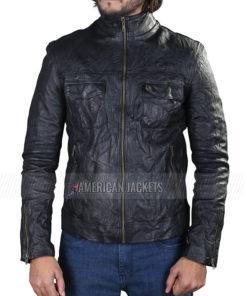 Klaus Mikaelson The Originals Black Leather Jacket for Mens