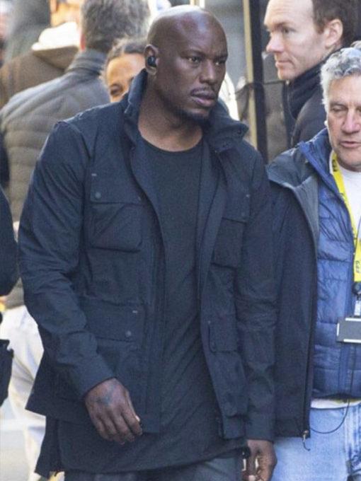 FF9 Tyrese Gibson Black Cotton Jacket
