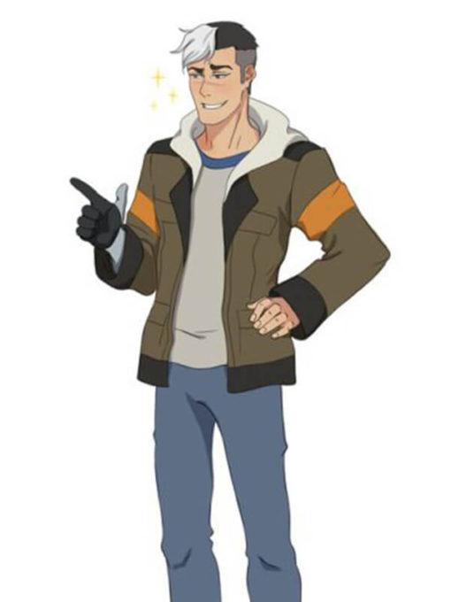 Takashi Shiro Shirogane Voltron Jacket