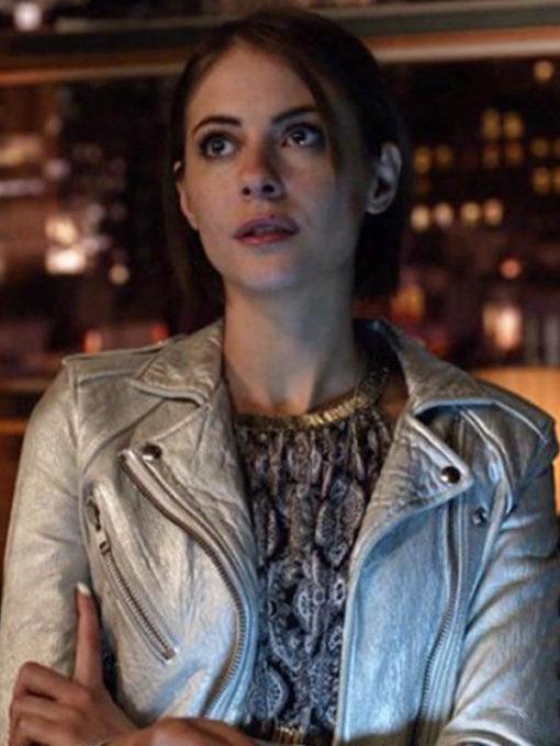 TV Series Arrow SO5 Thea Queen Biker Jacket