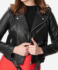 Women Brando Biker Jacket