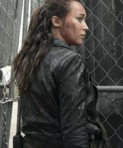 Alycia Debnam-Carey Fear The Walkind Dead Leather Jacket