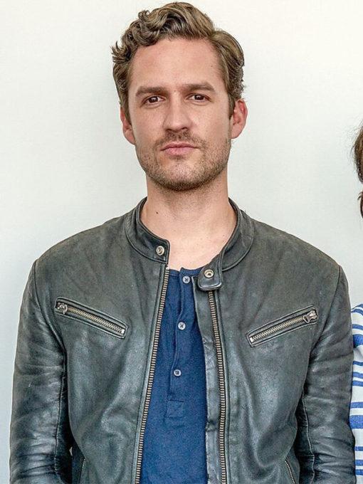 Ben Aldridge Fleabag Leather Jacket for Mens