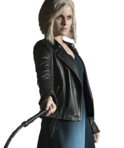 Rose McIver iZombie Tv Series Black Jacket