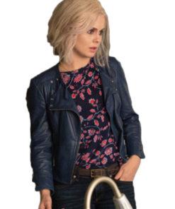 iZombie Rose McIver Blue Leather Jacket