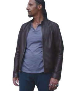 The Jesus Rolls Jesus Quintana Leather Jacket for Mens