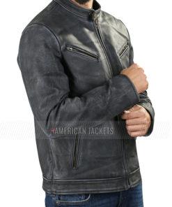 Arsehole Guy Fleabag Leather Jacket