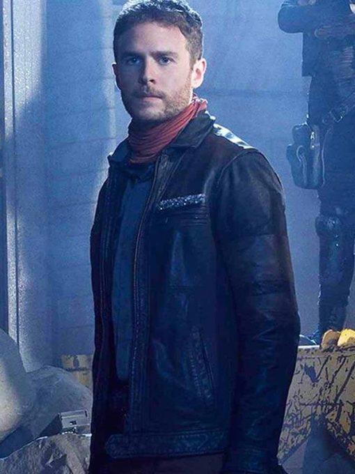 Iain De Caestecker Agents Of Shield Leather Jacket