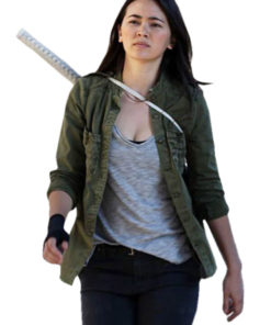 Colleen Wing Iron Fist Green Jacket