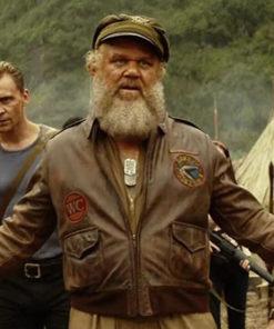 Kong Skull Island John C. Reilly Bomber Jacket