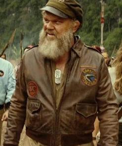 John C. Reilly Kong Skull Island Bomber Jacket