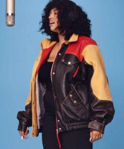 Video Hide Out A Colors Show Mahalia Leather Jacket