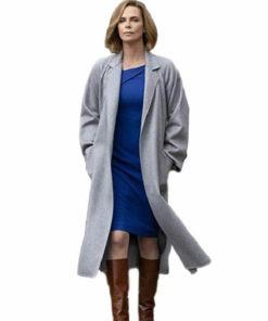 Long Shot Charlize Theron Coat