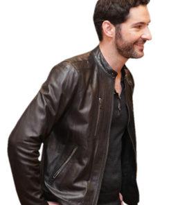 Lucifer Morningstar Tom Ellis Leather Jacket
