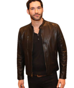 Lucifer Tom Ellis Leather Jacket