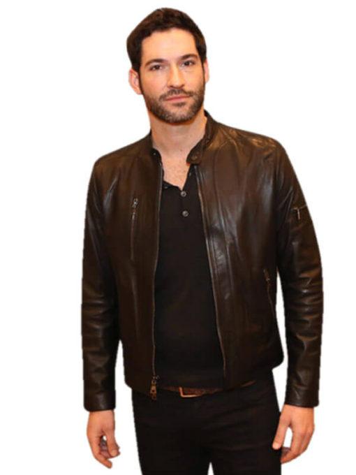 Lucifer Tom Ellis Leather Jacket
